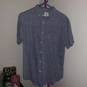 Old Navy Mens Button Down Slim Fit